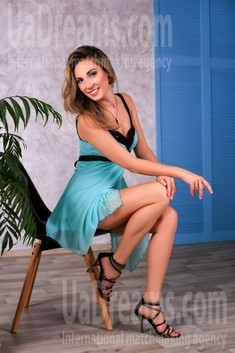 Alina from Zaporozhye 37 years - Kind-hearted woman. My small public photo.