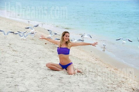 Alina from Zaporozhye 37 years - ukrainian bride. My small public photo.