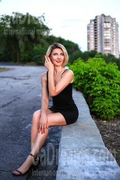 Marina from Zaporozhye 40 years - single lady. My small public photo.