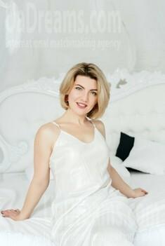 Marina from Zaporozhye 41 years - sunny smile. My small public photo.