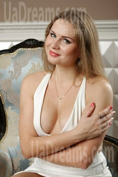 Helen from Zaporozhye 32 years - bride for you. My small public photo.