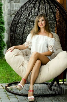 Olena from Lutsk 31 years - search for love. My small public photo.