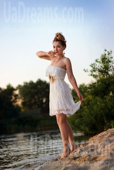 Alena from Zaporozhye 39 years - want to be loved. My small public photo.