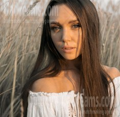 Inessa from Cherkasy 26 years - on a summer outing. My small public photo.