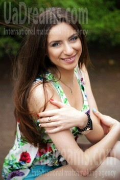 Alina from Zaporozhye 21 years - search for love. My small public photo.