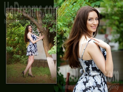 Alina from Zaporozhye 21 years - happy woman. My small public photo.