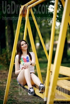 Alina from Zaporozhye 21 years - girl for dating. My small public photo.