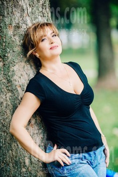 Galya from Poltava 49 years - single russian woman. My small public photo.