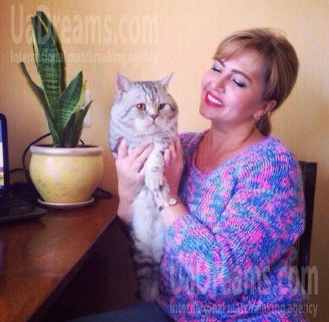 Galya from Poltava 49 years - independent woman. My small public photo.
