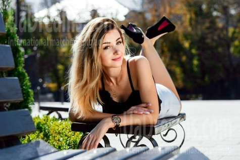 Anna from Cherkasy 22 years - charm and softness. My small public photo.