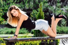 Anna from Cherkasy 21 years - desirable woman. My small public photo.