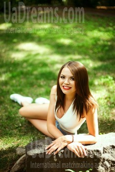 Iryna from Kiev 29 years - romantic girl. My small public photo.