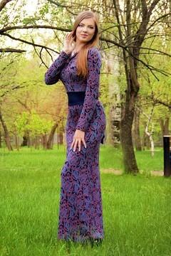 Irina from Zaporozhye 24 years - happy woman. My mid primary photo.