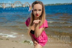 Lana from Dnipro 34 years - easy charm. My small public photo.