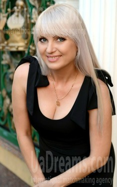 Natalie from Rovno 42 years - eyes lakes. My small public photo.