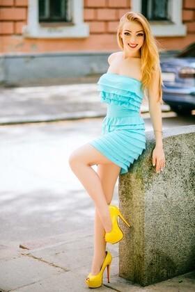 Anastasia from Poltava 19 years - romantic girl. My small primary photo.