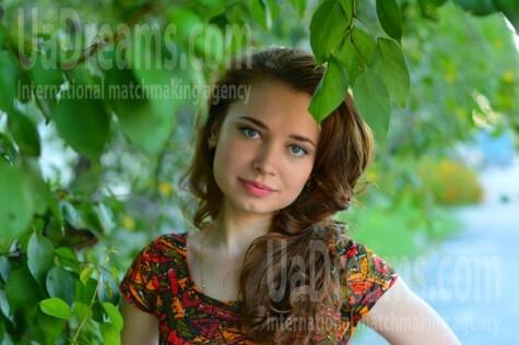 Olya from Kremenchug 28 years - bright smile. My small public photo.