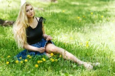Irina from Kremenchug 25 years - soft light. My small public photo.