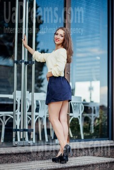 Karina from Cherkasy 22 years - mysterious beauty. My small public photo.