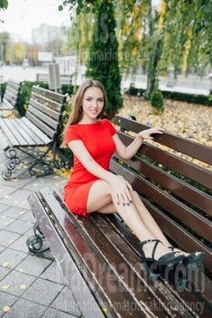 Karina from Cherkasy 22 years - on a summer outing. My small public photo.