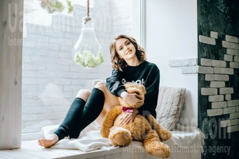 Katerina from Poltava 29 years - nice smile. My small public photo.