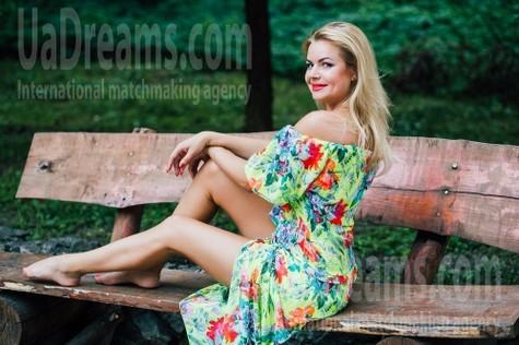 Oksana from Cherkasy 38 years - beautiful and wild. My small public photo.
