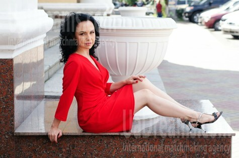 Marina from Cherkasy 43 years - natural beauty. My small public photo.