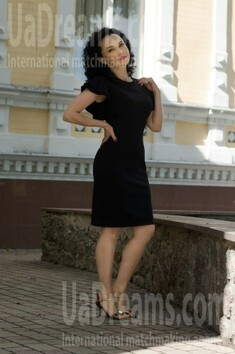 Marina from Cherkasy 43 years - seeking soulmate. My small public photo.