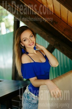 Maria from Ivano-Frankovsk 29 years - bride for you. My small public photo.
