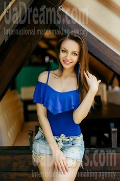 Maria from Ivanofrankovsk 28 years - girl for marriage. My small public photo.