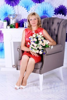 Anna from Dnipro 53 years - Kind-hearted woman. My small public photo.
