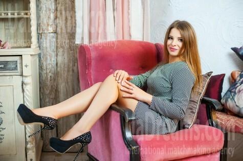 Nadia from Ivanofrankovsk 24 years - sunny smile. My small public photo.