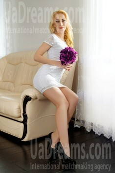Evgeniya from Dnipro 32 years - wants to be loved. My small public photo.