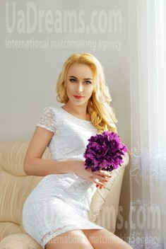 Evgeniya from Dnipro 32 years - future wife. My small public photo.