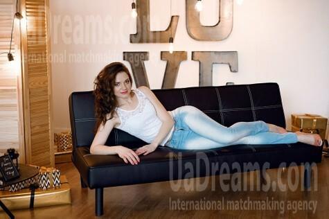Elena from Dnipro 34 years - good mood. My small public photo.