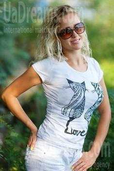 Karina from Kremenchug 31 years - eyes with love. My small public photo.
