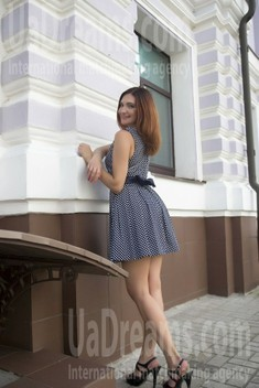 Victoria from Sumy 33 years - seeking soulmate. My small public photo.