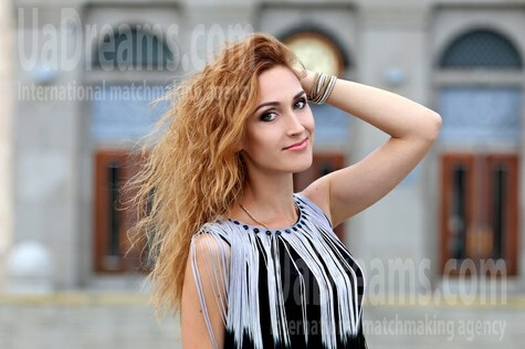Julia from Cherkasy 29 years - on a summer outing. My small public photo.