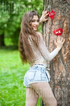 Antonina from Ivanofrankovsk 22 years - seeking man. My small public photo.