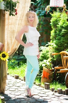Irishka from Lutsk 37 years - search for love. My small public photo.