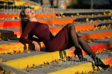 Vladlena from Sumy 29 years - romantic girl. My small public photo.