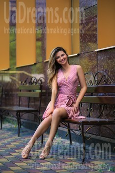 Vicky from Zaporozhye 36 years - sunny smile. My small public photo.