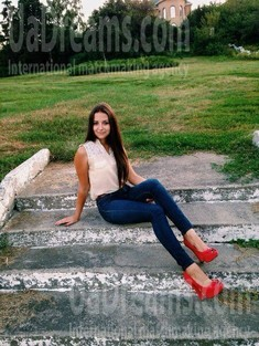 Olya from Cherkasy 19 years - Warm-hearted girl. My small public photo.