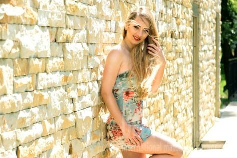 Alina from Kharkov 23 years - sunny smile. My small public photo.