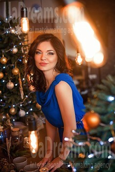 Olya from Dnipro 25 years - bright smile. My small public photo.
