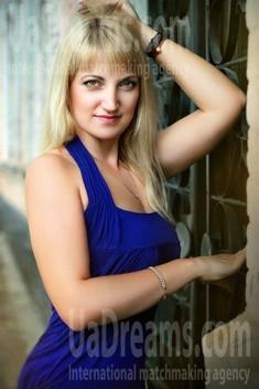 Oksana from Zaporozhye 40 years - easy charm. My small public photo.