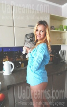 Olya from Kiev 36 years - future bride. My small public photo.
