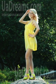 Alina from Rovno 24 years - bride for you. My small public photo.