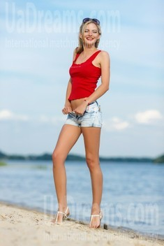 Svetlana from Kremenchug 28 years - future wife. My small public photo.