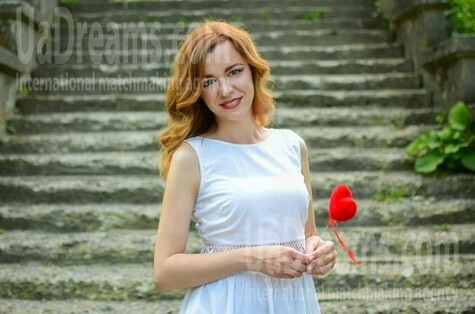 Diana from Lutsk 32 years - on a summer outing. My small public photo.